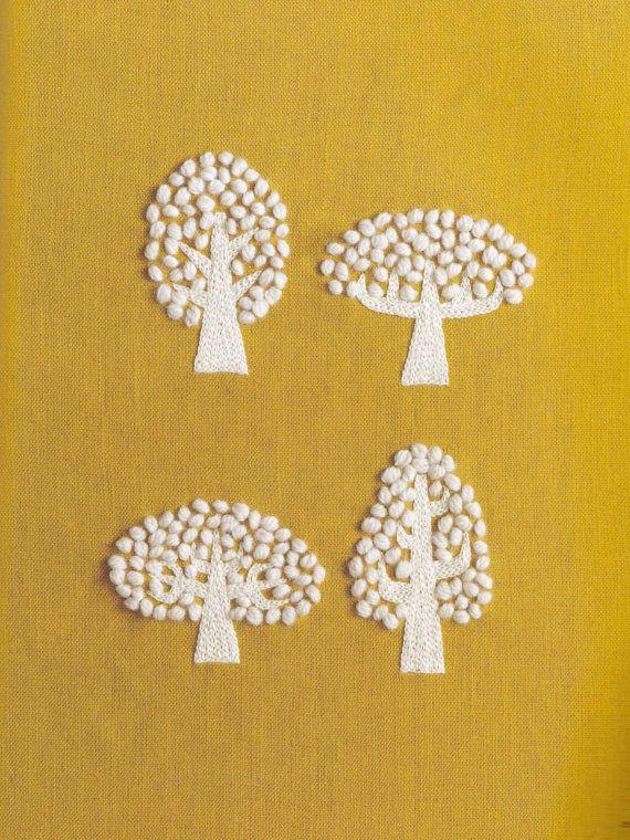 Modern embroidery. Maille de laine par Yumiko Higuchi livre de par KitteKatte sur Etsy