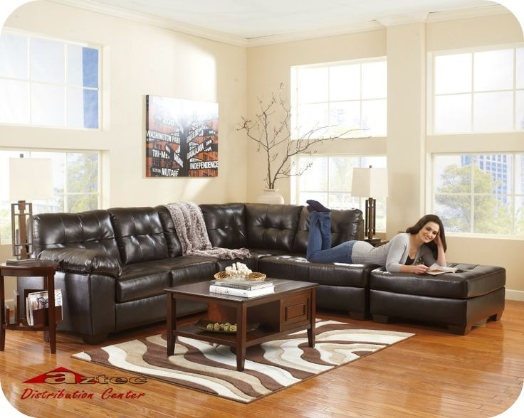 Chocolate Livingroom Millennium By Ashley Bellagio Furniture Located In Houston Texas We Offer High