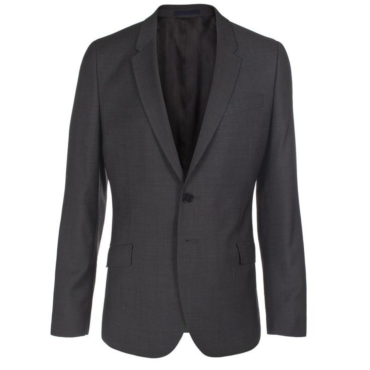 Paul Smith Jackets | Grey Birdseye Wool Jacket