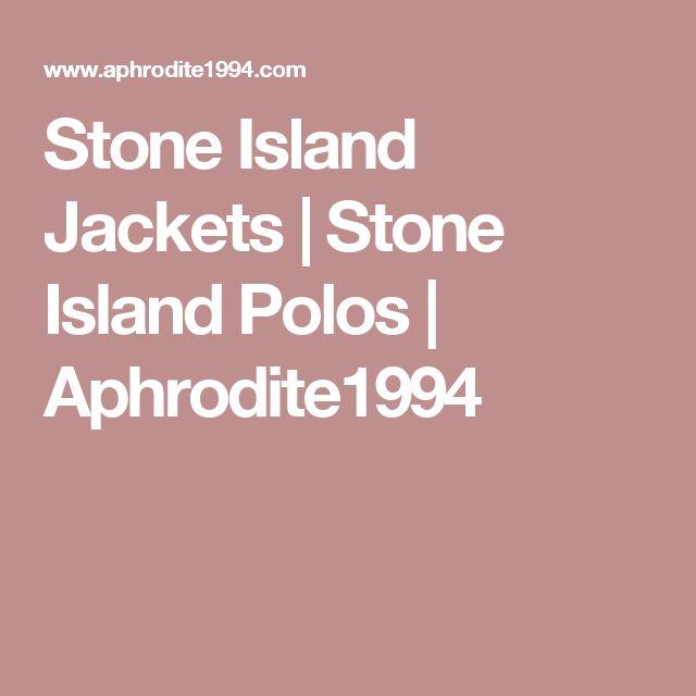 Stone Island Jackets | Stone Island Polos | Aphrodite1994