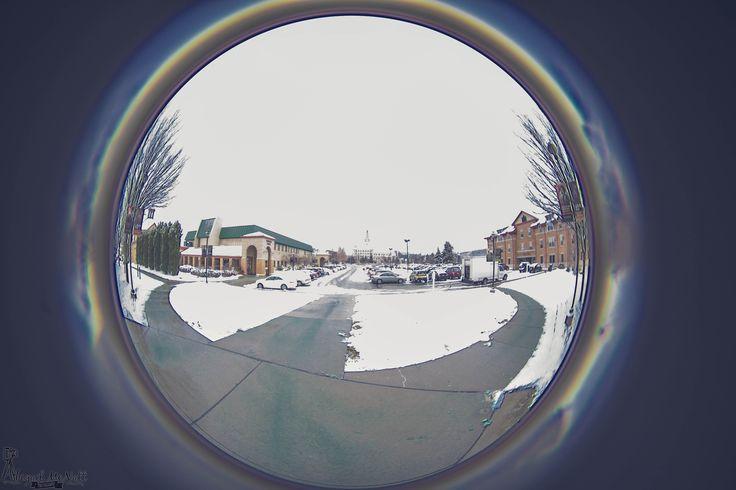 La Roche College - through a fisheye lens #fisheye #lens #photography #pittsburgh #college