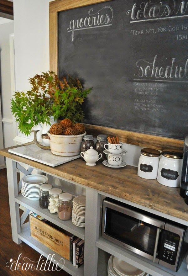 13 Ideas For A Home Coffee Bar