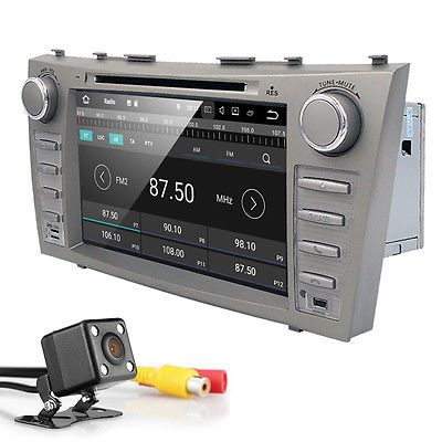Android 7.1.1 Car Stereo DVD Player GPS DAB+ Wifi DVR for Toyota Camry 2007-2011