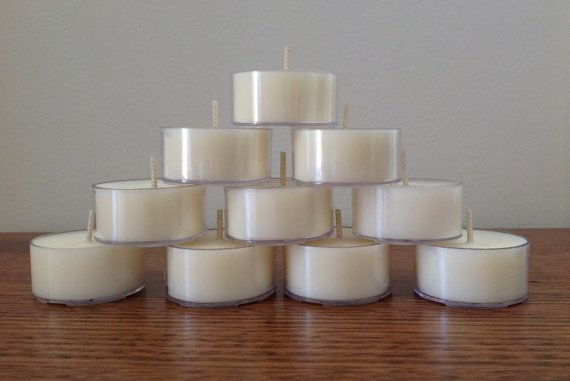 Soy Tealights 10 pack  Gift Boxed  Choose your scent! by TheNaturalProductsCo