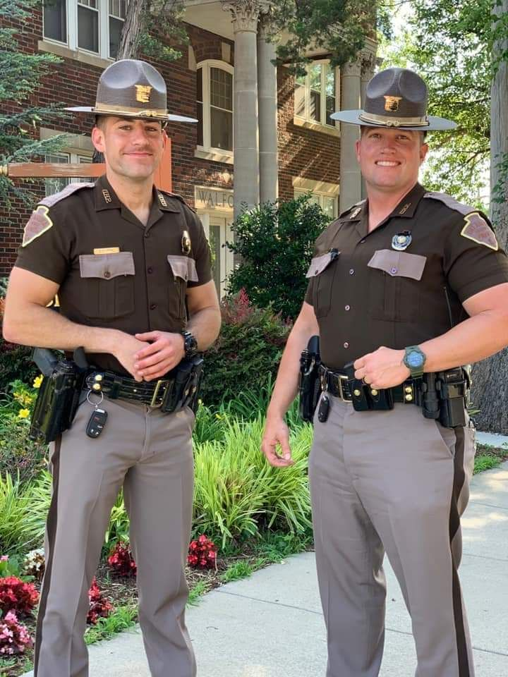Oklahoma troopers ryan smith and micah freeman men in