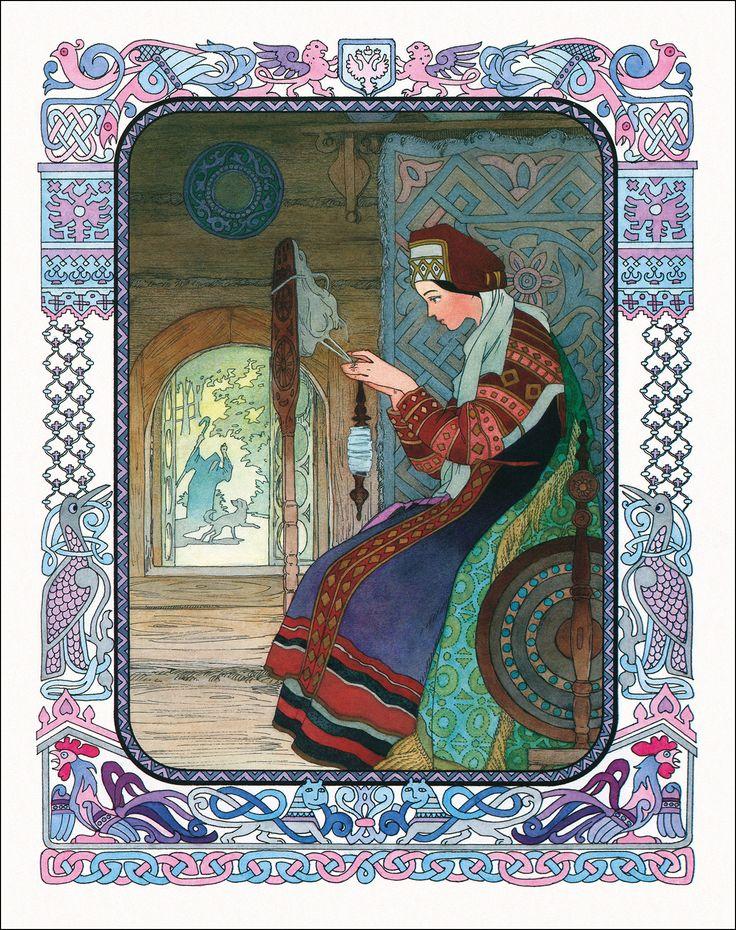 Картинка марья-царевна и семь богатырей