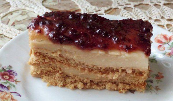 Бисквитена торта Стевия - Рецепта   Gotvach.bg