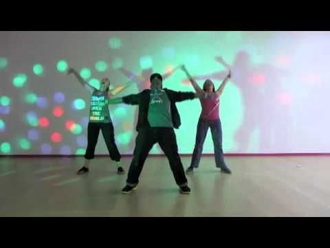 """Fun disco routine for a #zumba class. Nathan Blake of Blake TV does """"Knock on Wood"""" For Fitness Dance"""