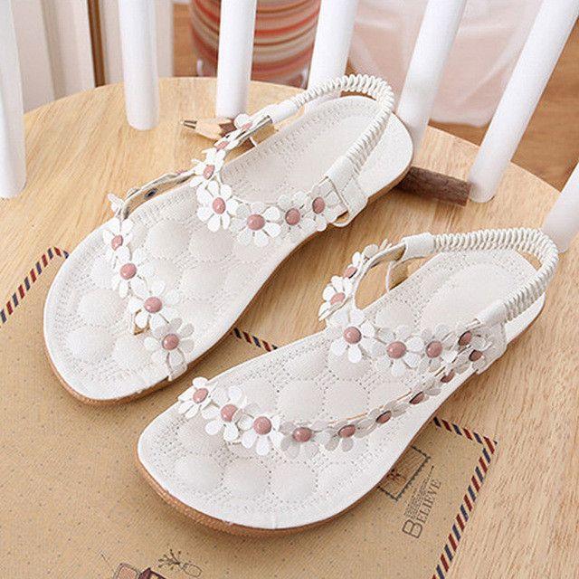 Bohemia Flower - White
