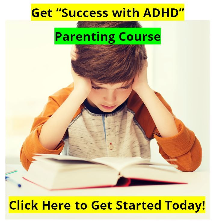 Success with ADHD parenting course