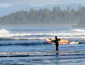Going wild, in comfort, on Vancouver Island