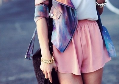 #pink #gold #galaxy