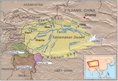 Tarim Basin - Wikipedia, the free encyclopedia