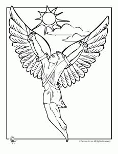 ancient greek gods & heroes coloring pages