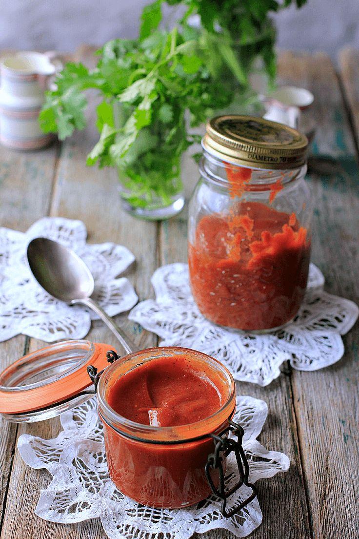 LAS SALSAS DE LA VIDA: Salsa barbacoa de zumo de tomate