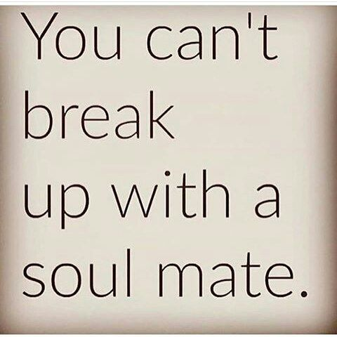 No matter how hard you are trying to push me away, I'm always here, it must be Love. You are the one who said we are soul mates.