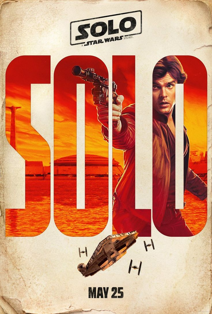 Solo movie posters are a typographic treat | Creative Bloq