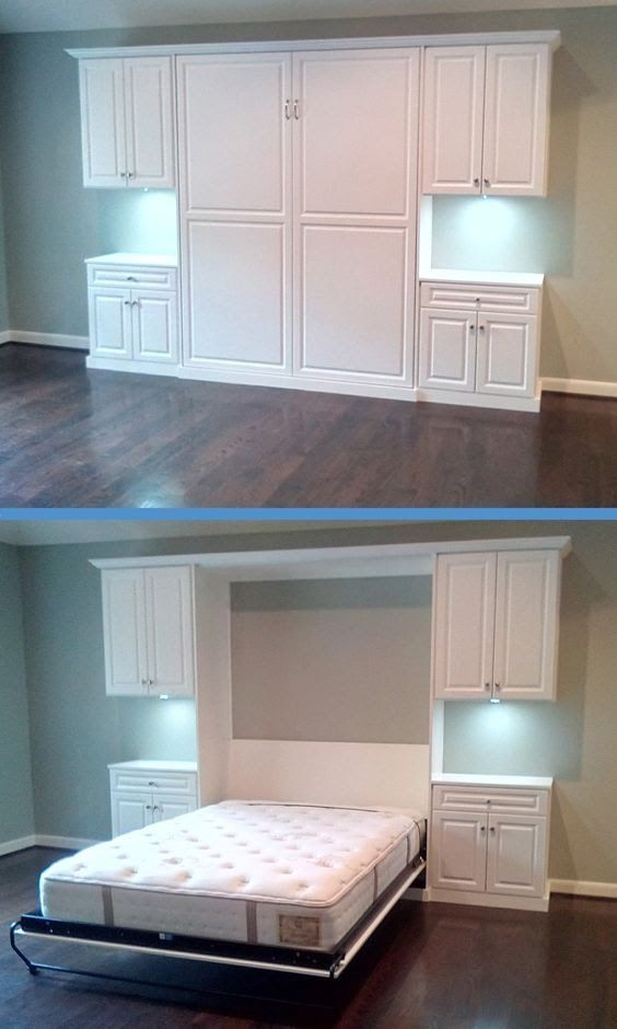 Murphy Beds are a great addition to any home. Add an extra bedroom without adding any square feet! Here's a look at how to get one installed in your home.: