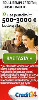 Pikavippivertailu jossa kaikki Suomen pikavipit. Katso mistä löytyy halvin pikavippi 2013 ja hae lainaa heti.
