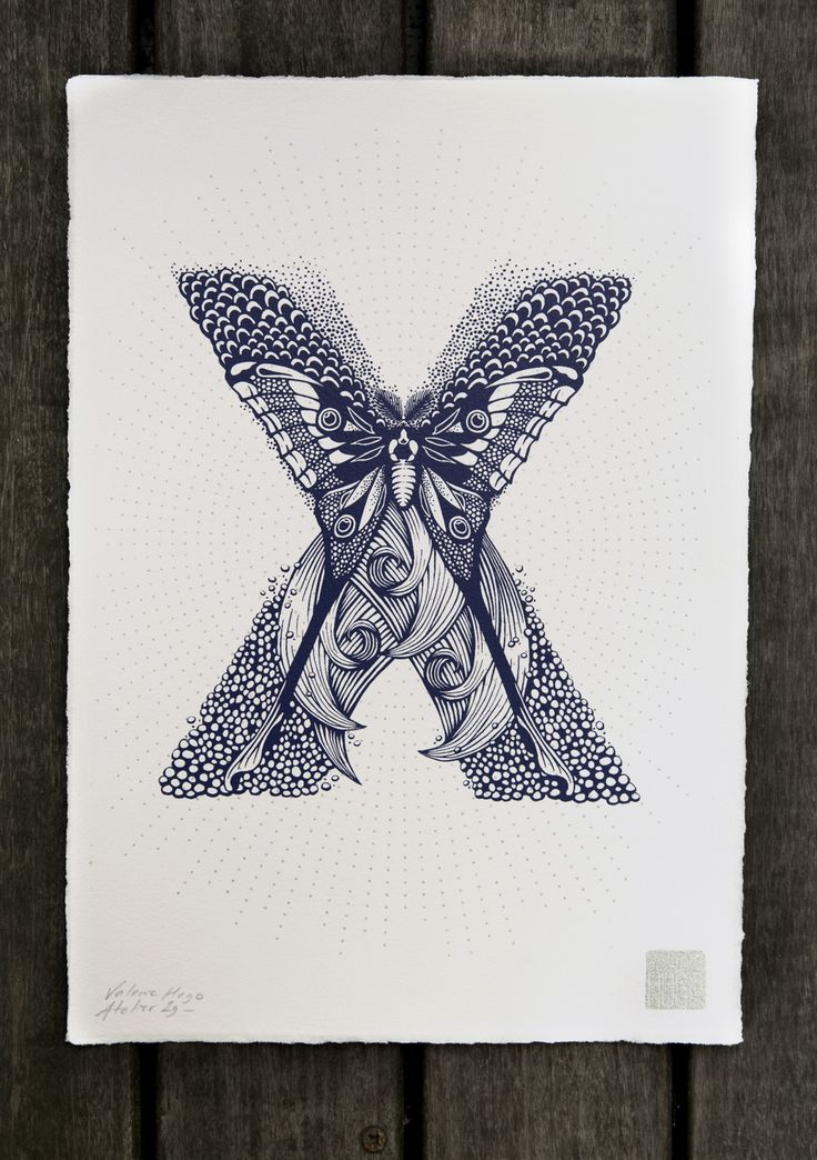 nature inspired typography by val233rie hugo typography