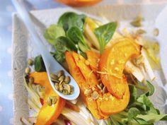 Apfel-Kürbis-Salat | Zeit: 40 Min. |http://eatsmarter.de/rezepte/apfel-kuerbis-salat
