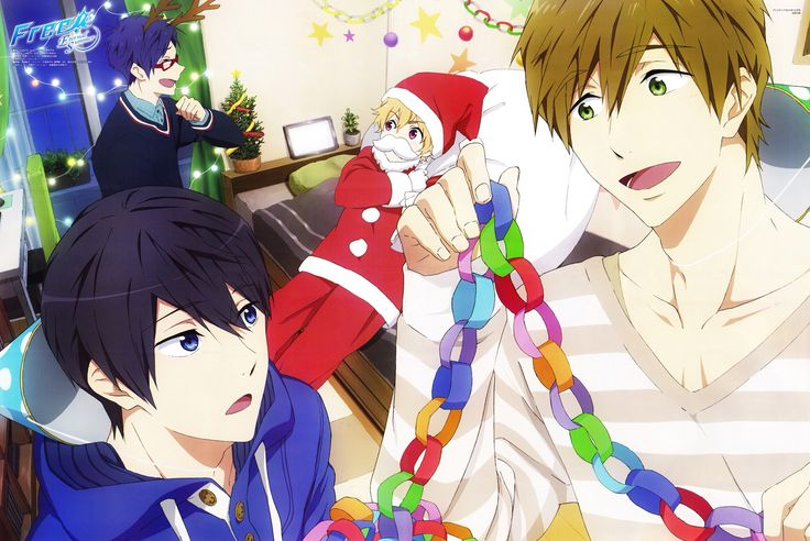 Free! - Iwatobi swim club, Christmas: