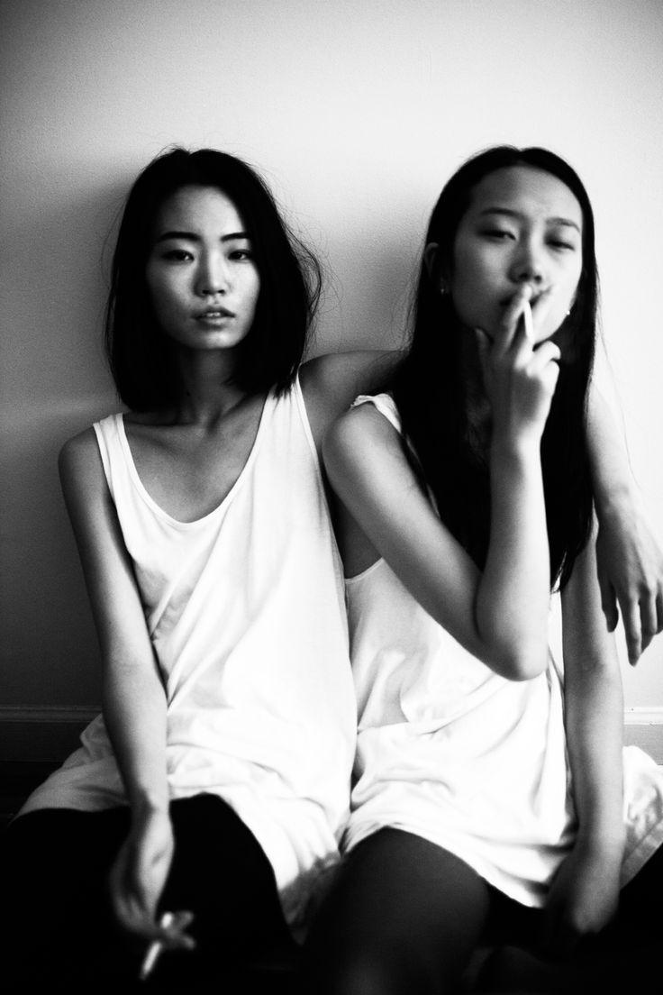 Smoke and puff. #smoke #girls #bw
