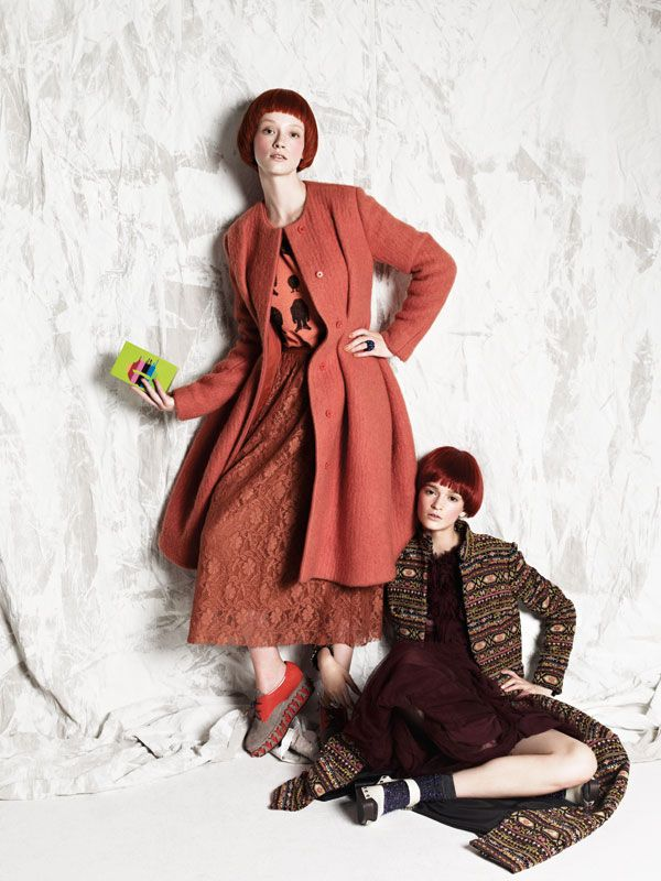 Seuss It or Lose It.  A DR. SEUSS-INSPIRED SWIRL THROUGH FALL FASHION.  BY PAPERMAG  PHOTOGRAPHED BY COLIENA RENTMEESTER  STYLED BY MARTHA VIOLANTE