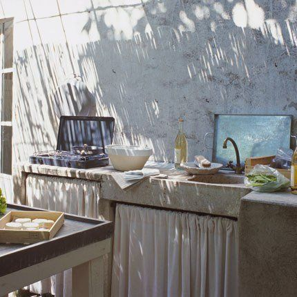 Une cuisine en provence