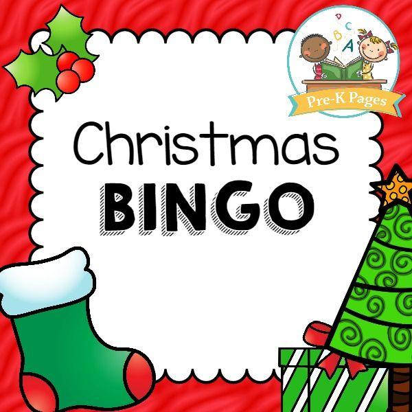 christmas bingo - Preschool Halloween Bingo