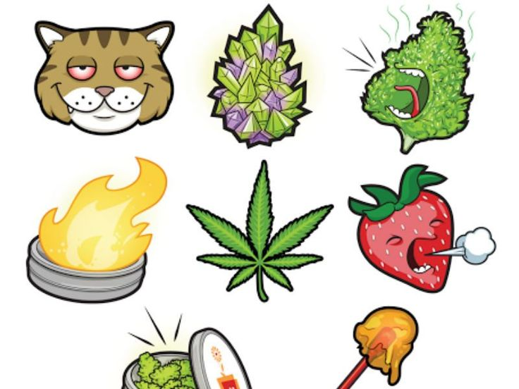 A new app called Bloommoji launched on Monday, which features cannabis friendly emojis like marijuana leaves, dabbing sticks, and so much more.