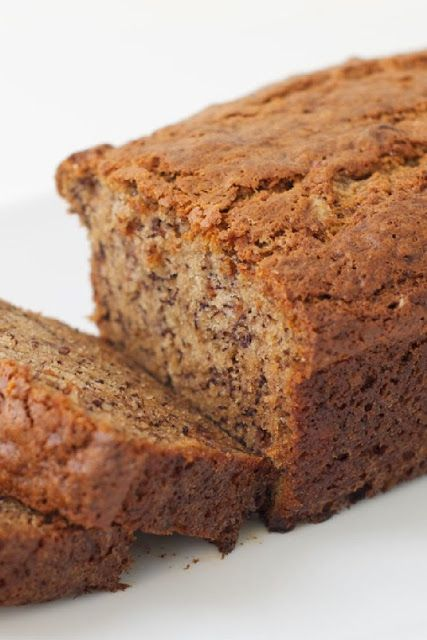 Weight Watcher 1 Point Banana Bread--Flex Points | Moist and tasty! For those on WW, it's an easy, economical homemade alternative to buying the overpriced WW baked goods in the grocery store. This recipe is courtesy of the WW website