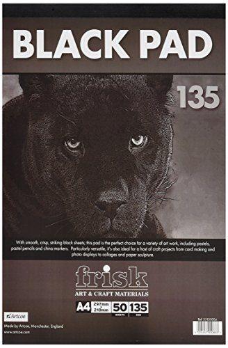 Frisk 135 g A4 Paper Pad, Pack of 50 Sheets, Black Frisk https://www.amazon.co.uk/dp/B00DTSJR90/ref=cm_sw_r_pi_dp_x_qje9yb46P53E0