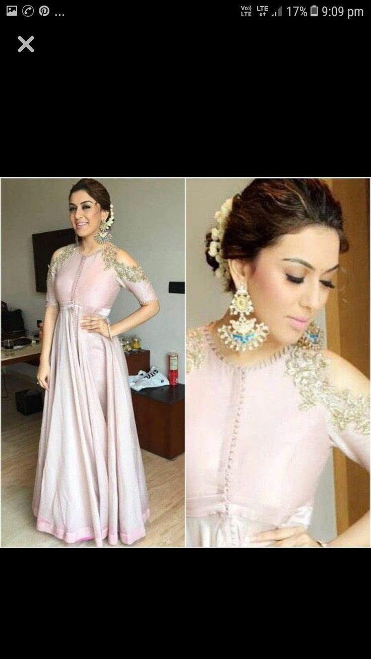 Beautiful gown dress available in different colors intrested buyers msg me on my fb account komalrajora@gmail.com or leave a coment down below