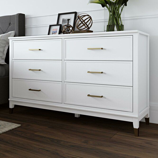 Westerleigh 6 Drawer Double Dresser