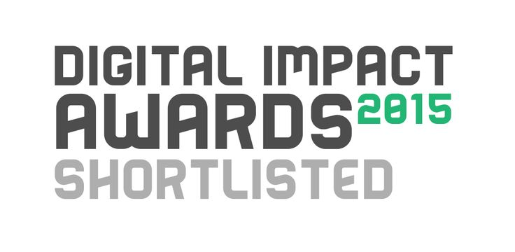 Inside Online have been shortlisted for the Digital Impact Awards 2015