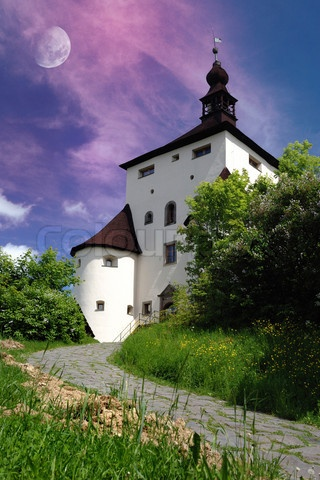 New castel in Banska Stiavnica, Slovakia Unesco'