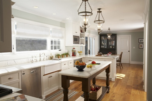 Narrow Kitchen Layout Design, Pictures, Remodel, Decor and Ideas