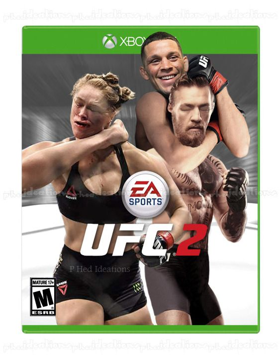 Updated UFC 2 cover