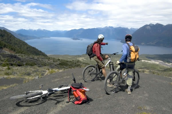 """This wonderful trip over """"Cordillera de los Andes"""" has all the activities that nature can offer in Patagonia. GiroVai.com No Frontiers can take you kayaking, biking, horseback riding and on a boat journey along rivers and lakes, making this multiactivity itinerary one of those that you will never forget. http://girovai.com/destinations-patagonia-active-andean-crossing-3-107-14-0 #girovai #adventure #travel"""