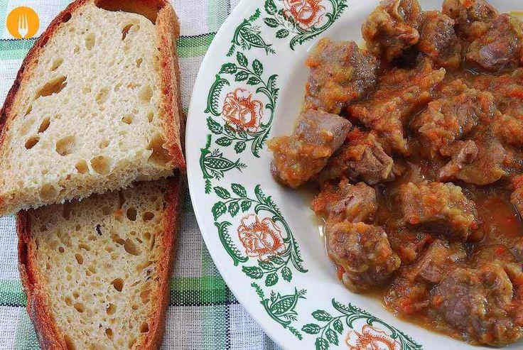 Carne en salsa. Receta fácil y vídeo paso a paso | Recetas de Cocina Casera - Recetas fáciles y sencillas