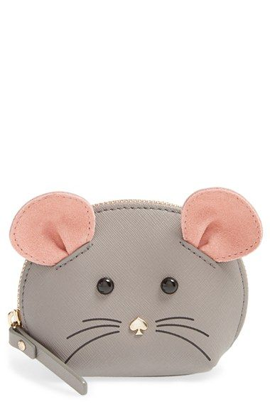 kate spade new york 'cat's meow' mouse coin purse available at #Nordstrom