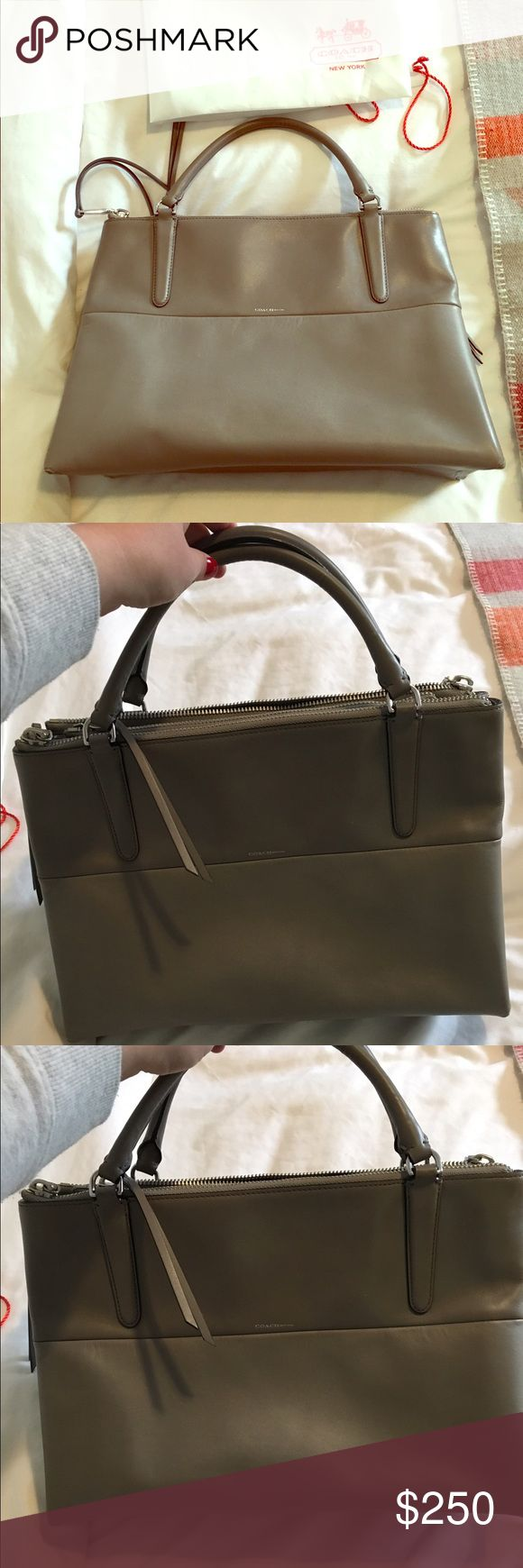 Coach Satchel Bag Great condition!  Beautiful grey color! Coach Bags Satchels