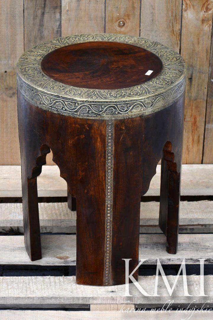 meble indyjskie, meble arabskie, stolik marokański