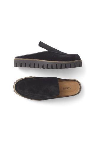 Ganni New Arrivals | Mimi Velvet Shoes