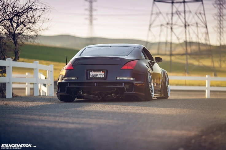 stanced nissan 350z wallpaper - photo #21