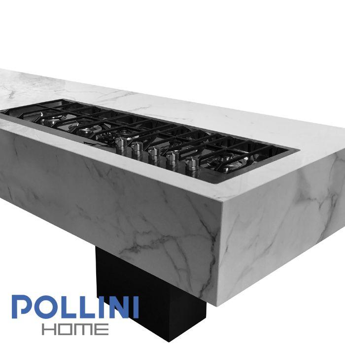 #marble effect #Ceramic #kitchen #top | Top da #cucina in #ceramica effetto #marmo