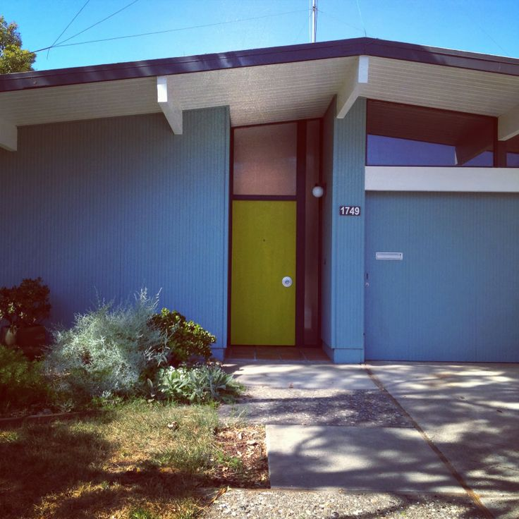 1000 images about curb appeal on pinterest mid century for Eichler paint colors