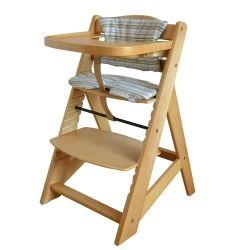 Syöttötuoli, vaalea, 69,95€. Puinen syöttötuoli, joka kasvaa lapsesi kanssa. Hyvin suunnitteltu tuoli on on helppo säätää lapselle sopivaksi. Lapsi voi istua tämän avulla pöydässä koko perheen kanssa! Ilmainen toimitus! #syöttötuoli