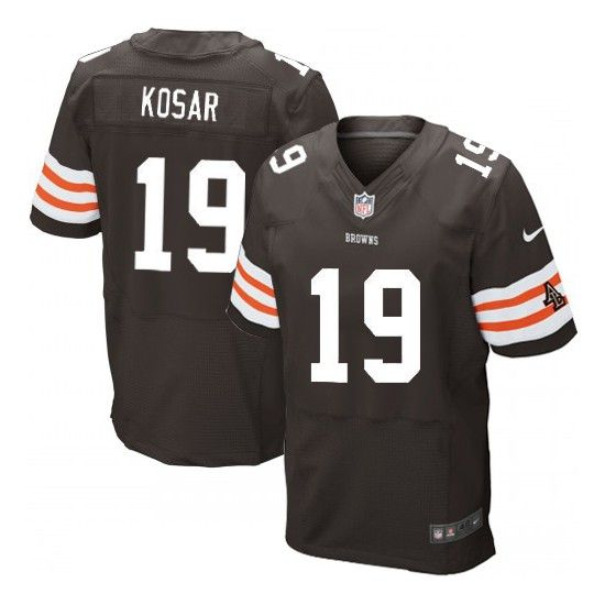newest f6c3e cbb5d Limited Grey Shadow Jersey-24705. Mens Nike Cleveland Browns 19 Bernie ...